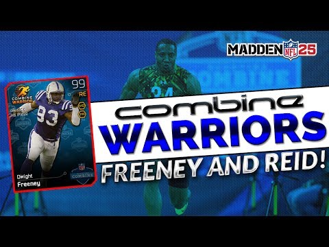 MUT 25 - Combine Dwight Freeney - How to get Free Packs! Combine Eric Reid - MUT Draft Collection