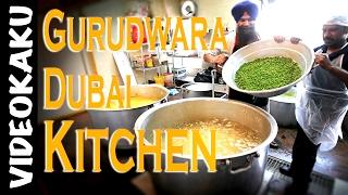 Dubai Gurudwara, Inside The Kitchen