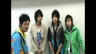 Shunji, Masaki, Zukki and Yanagi talking about Karasu.