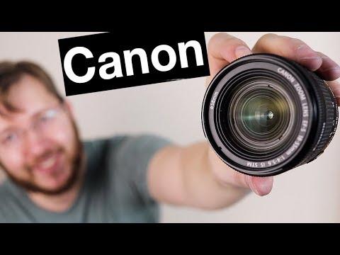 Камера и объектив для бьюти блога?