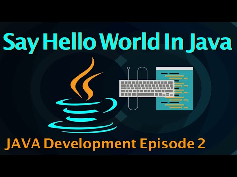 Execute Hello World Program in Java
