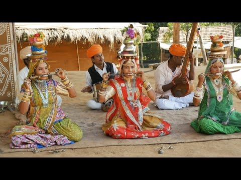 Marwadi Songs Woman Dance Show.Shilpgram Folk Dance Show,Udaipur,Rajasthan,India.उदयपुर.Indian Dance
