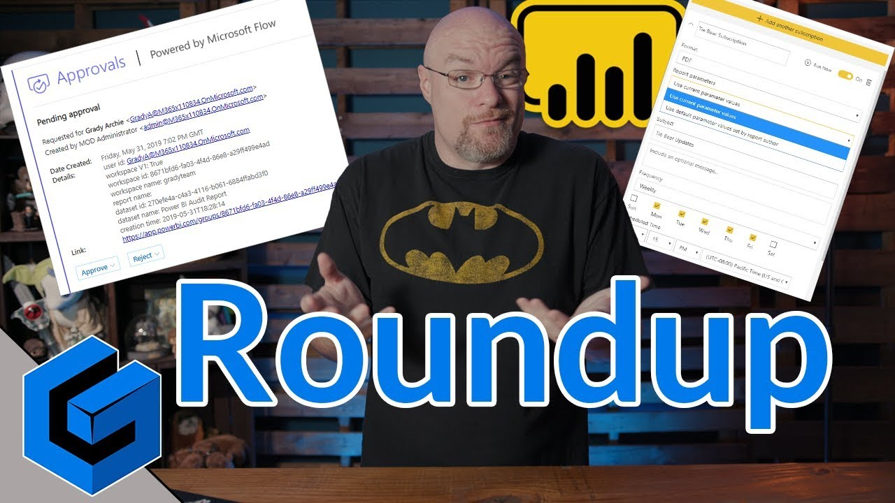 Power BI Governance, Performance, email subscriptions and more    (June 3,  2019) - REPOST