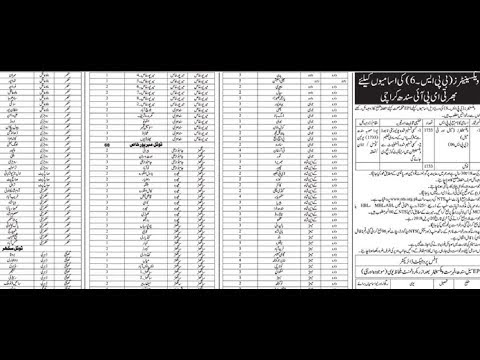 EPI Health Department Sindh Jobs 2018 for 1733+ Vaccinators (Multiple Districts)