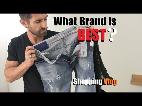 What Brand Of Jeans Is BEST? Denim VLOG (Diesel, AE,  Levis, 7's ,Gap, J Brand) Style Safari