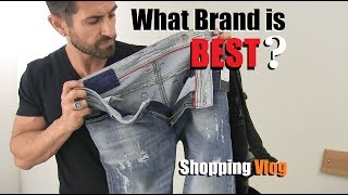 What Brand Of Jeans Is BEST? Denim VLOG (Diesel, AE,  Levis, 7