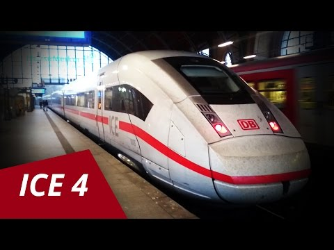 Deutsche Bahn ICE 4 Hamburg Dammtor