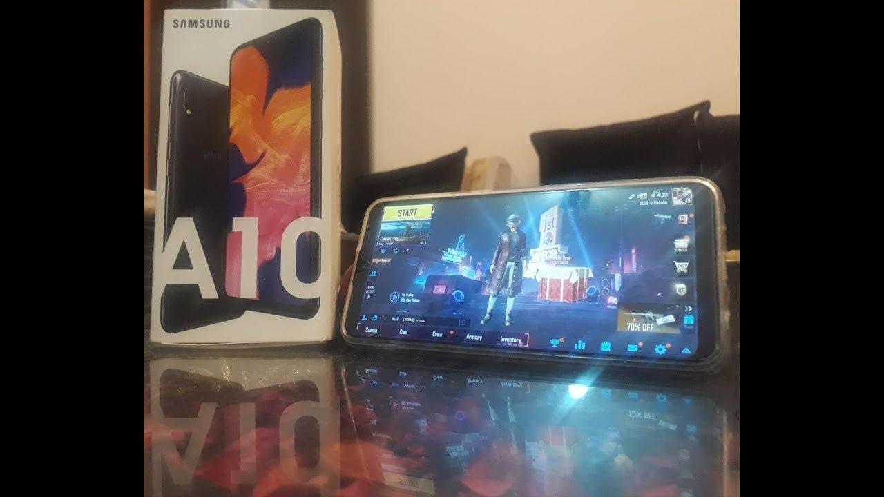 Samsung Galaxy A10 Pubg Performansi Youtube