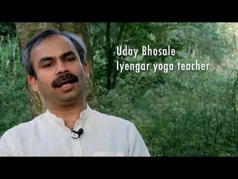 A Talk With Uday Bhosale, Iyengar YogaTeacher By Stef Anrys (GRIOT, Creative Storytelling)