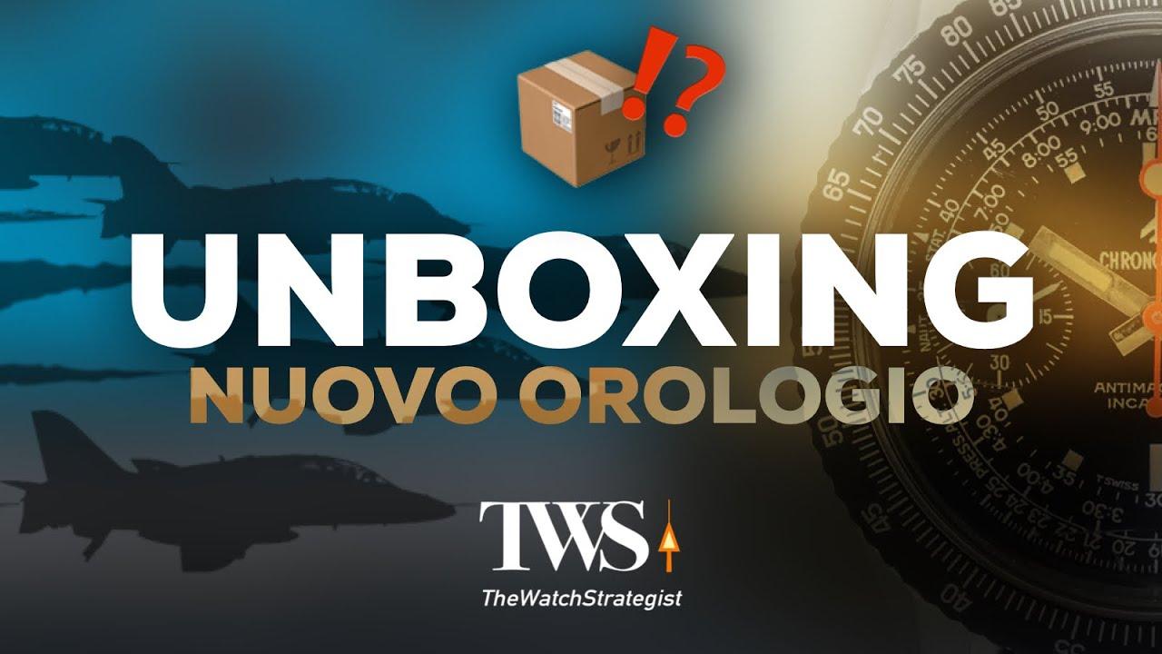 UNBOXING NUOVO OROLOGIO
