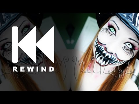Evil Ring Master Makeup Tutorial (Rewind 2012)