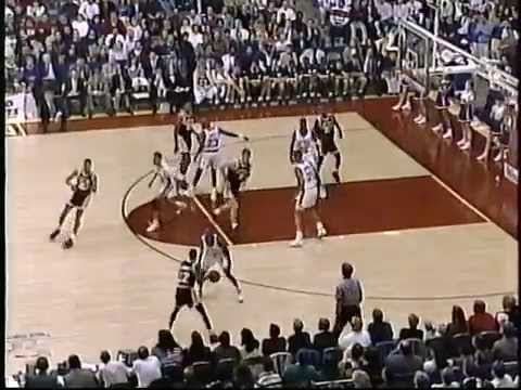 DePaul-Notre Dame basketball, March 7, 1992 (first half)