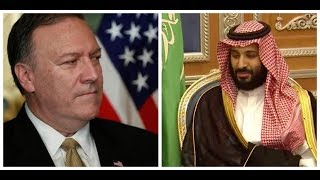 Secretary of State Mike Pompeo Meets with Saudi Arabia Crown Prince Mohammed bin Salman Amid Turmoil