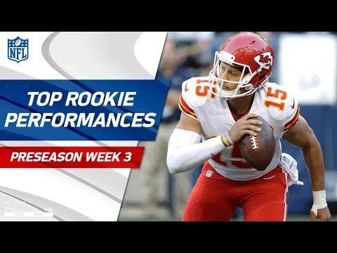 Top Rookie Performances Of Week 3 | NFL Preseason Highlights