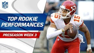 Top Rookie Performances of Week 3 | NFL Preseason Highlights