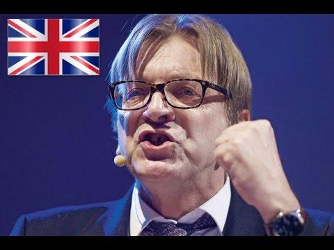 EU REFERENDUM- Guy verhofstadt - Abolish sovereign european countries.