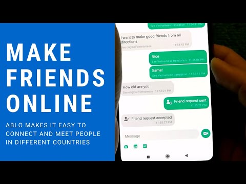 Ablo App Review- An App To Make Friends Online Not Dating- Chat Meet New Internet Friends Online