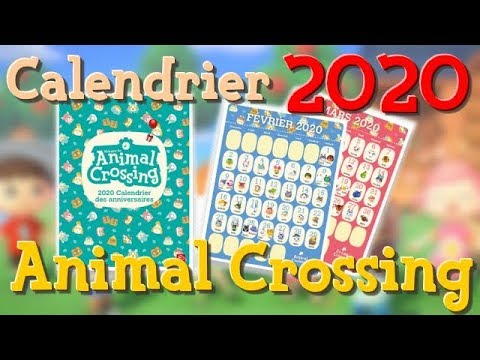 Comment avoir le CALENDRIER Animal Crossing 2020 ? 🤔 TUTO   YouTube