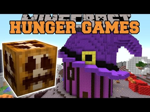 Minecraft: HALLOWEEN THEME PARK HUNGER GAMES