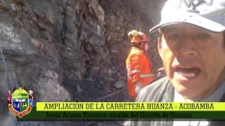 Ampliación de la carretera Huanza Acobamba