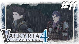 Lets Play Valkyria Chronicles 4 #11 / Bei Nacht und Regen / Gameplay (PS4 / German / Deutsch)