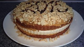 Торт Сникерс ! Домашние торты - пошаговый рецепт вкусного торта