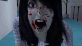 The Grudge Ju-On Kayako ( The Sims 2 Version ) Horror HD