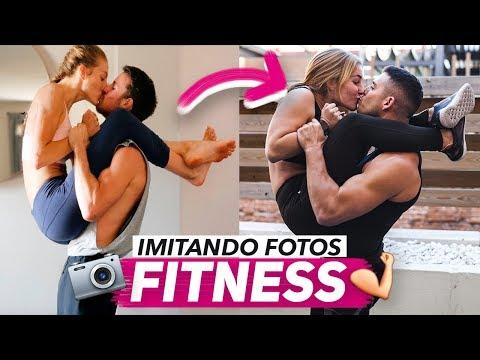 imagenes de parejas fitness con frases