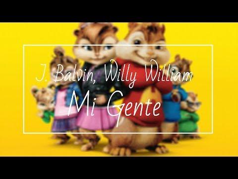 J. Balvin, Willy William - Mi Gente (COVER by Chipmunks)