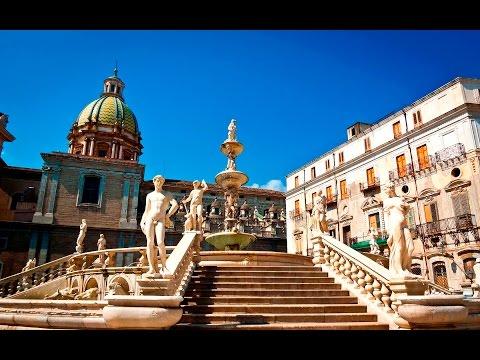 PALERMO ( Sicily - Italy ) - TOUR DELLA CITTA' - Tour of the city -