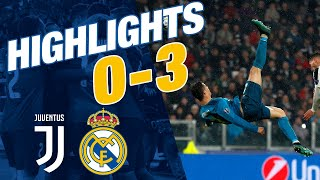 Goals And Highlights | Juventus 0-3 Real Madrid | Champions League