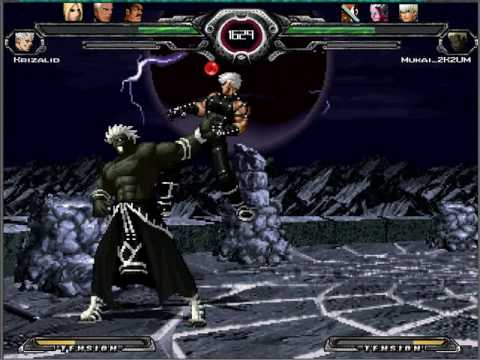 KOF MUGEN Orochi Boss Team vs Nests Boss Team