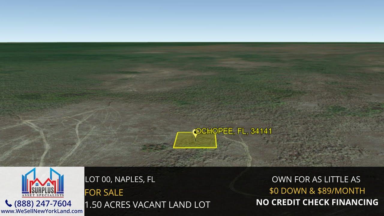 Lot 00, Ochopee, Fl - Florida Land For Sale  - www.WeSellNewYorkLand.com