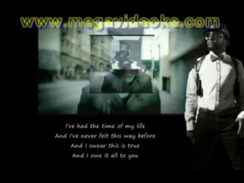 The Time -- Black Eyed Peas - Lyrics on screen