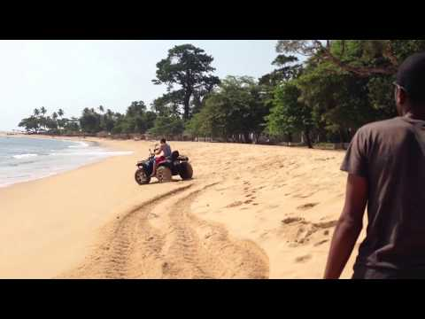 Lakka Beach, Freetown, Sierra Leone