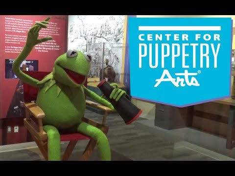 Center for Puppetry Arts (Atlanta) Tour & Review with The Legend