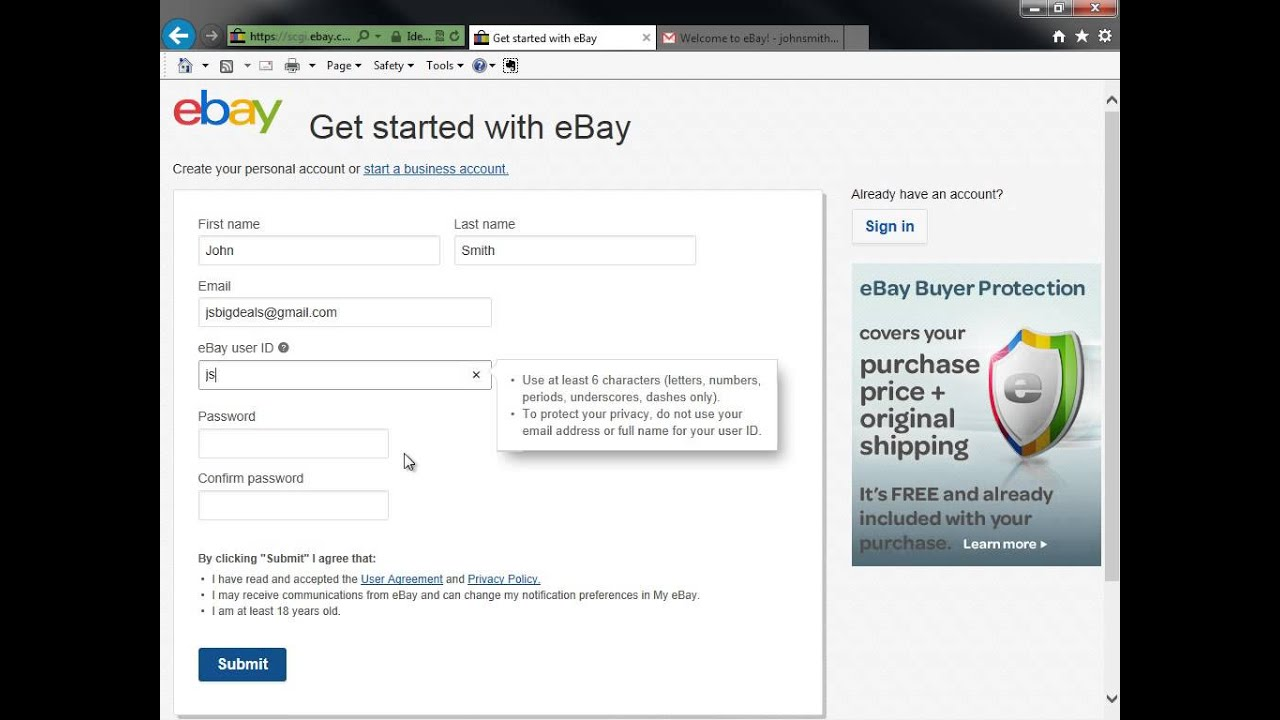 How to register on eBay 33