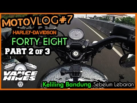 Forty Eight | Motovlog #7 (2/3) Keliling Bandung, Flyover, Dago Resort | V&H Competition Series