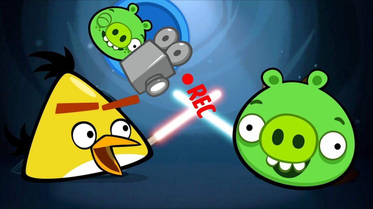 ANGRY BIRDS vs BAD PIGGIES - Original - Free Angry Birds ...