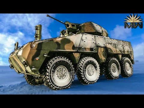 NEW Barys 8x8 Armored Fighting Vehicle ⚔️ Kazakh AFV