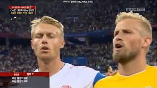 Anthem of Denmark vs Croatia FIFA World Cup 2018