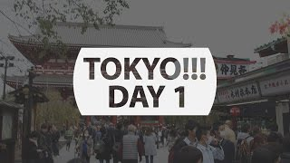 TOKYO! - We're Here! Day 1 - Getting Lost in Japan