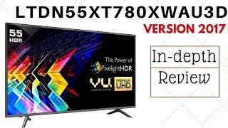 VU 55 inch 4k UHD LED Smart TV|LTDN55XT780XWAU3D Version 2017|Best Budget 55 inch 4k Smart TV|Review