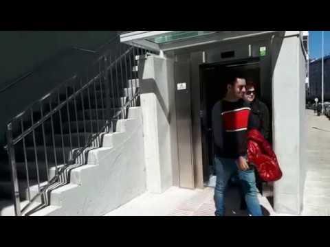 Los vecinos de Fontiñas estrenan el ascensor