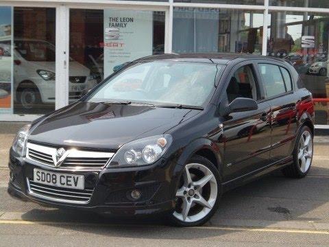 2008 08 Vauxhall Astra 1 9 Cdti Sri 5dr In Black