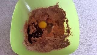 Шоколадный кекс в микроволновке за 5 минут рецепт