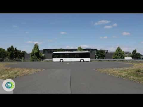 Dresden - Coupling and uncoupling of modular bus concept