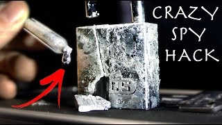 How To Melt Locks Like a Spy! - Super Easy Spy Hack (Gallium)