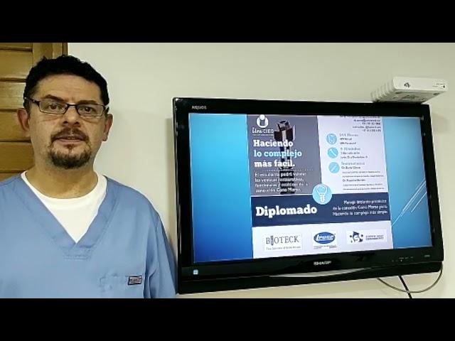 DIPLOMADO - Manejo implantoprotésico de la conexión Cono Morse puro. Haciendo lo complejo más simple
