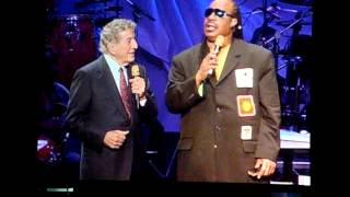 Stevie Wonder & Tony Bennett -  For Once in my Life 11-17-2007 @ MSG